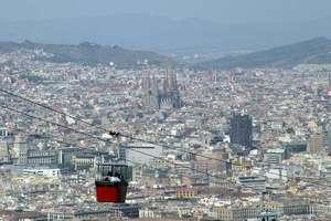 Barrios de Barcelona vistos desde el Montjuic